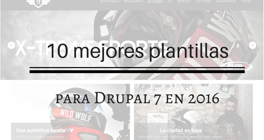 10 mejores plantillas para Drupal 7 en 2016