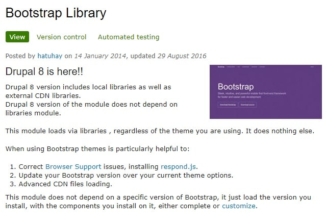 Bootstrap Paragraphs