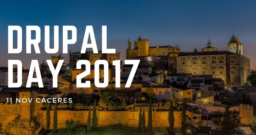 Drupal Day Cáceres 2017 portada