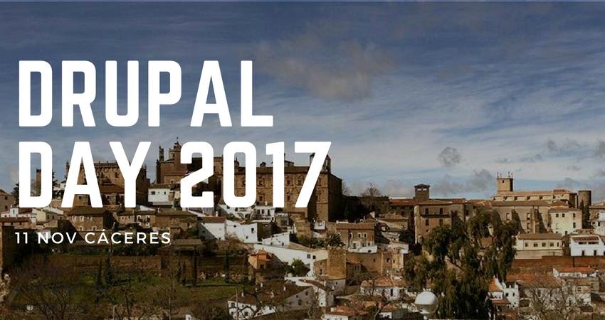 Impartimos un taller en el Drupal Day de Cáceres