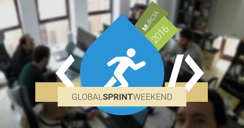 Drupal Global Sprint Weekend Murcia 2016